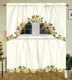 Sunflower Kitchen Stuff   KITCHEN DINING, 24 inch tier only sets items in kitchen curtains