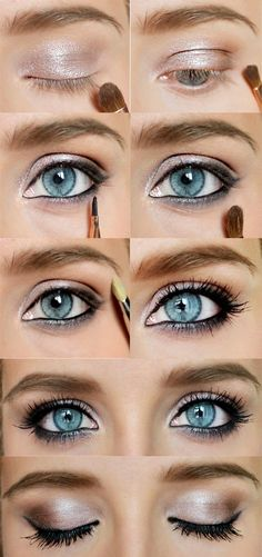 18 Amazing Eye Makeup Tutorials - I can do these with Mary Kay colors  products... Must ask.