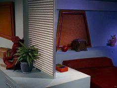 1966 Star Trek Set / Captain Kirk's Quarters