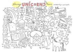things unicorns love