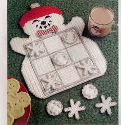 Tic Tac  Snowman Plastic Canvas Pattern by needlecraftsupershop, $4.99