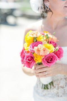 yellow weddings, idea, yellow wedding flowers, pink orang, orang yellow