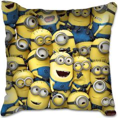 Despicable Me 2 Minion Kid Movie Birthday Toy Plush Car Bed Chair Cushion Pillow on eBay!