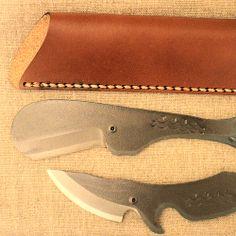 Whale Knife and leather sheath