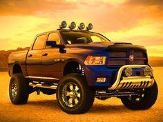 I want a truck like this! BIG DODGE TRUCK!!!