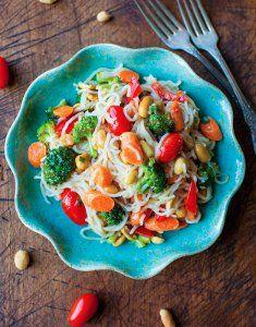 5-Minute Asian Noodles | FaveHealthyRecipes.com