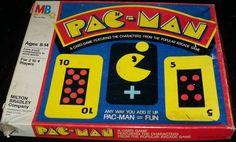 MILTON BRADLEY: 1982 Pac-Man Card Game #Vintage #Games