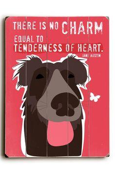 Tenderness of Heart by Pet Art Shop on @HauteLook