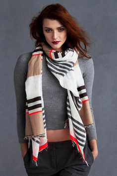This is the sexiest scarf I have EVER seen.