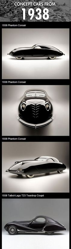 Concept cars from 1938 - The Phantom Corsair … This, right here, is style.