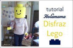 tutorial holamama disfraz Lego