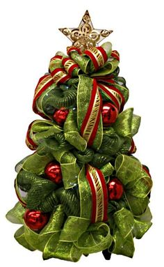 A.C. Moore Holiday Deco Mesh Tree