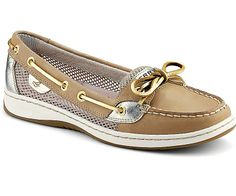 Sperry Top-Sider Angelfish Open Mesh Slip-On Boat Shoe. Just ordered my first pair of boat shoes since HS. Can't wait for them to arrive.
