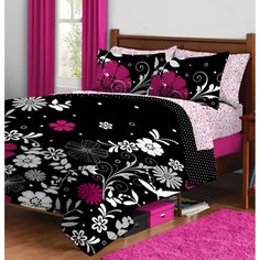 Twilight Garden Complete Bed in a Bag Bedding Set