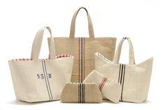 grain sack bags and totes