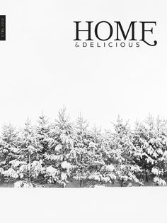 New issue of our web magazine Home and Delicious is out...