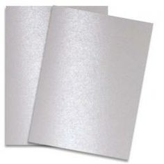 Lovely white shimmer TEXT weight paper.  Shine PEARL - Shimmer Metallic Paper - 8.5 x 11 - 80lb Text (118gsm) - 25 PK
