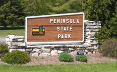 Peninsula State Park is a 3,776-acre Wisconsin state park with eight miles of Green Bay shoreline in Fish Creek, Door County, WI.