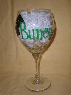 Bunco glass