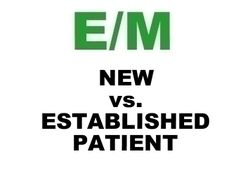 New vs Established Patient (CMS and CPT) Lecture and Resource. cpt code, work stuff, medic code, medic bill, medic stuff