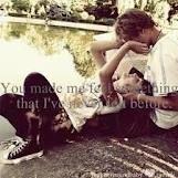 You made me....