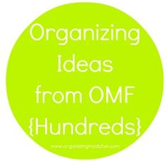 Hundreds of Organizing Ideas for your home and life! organizing ideas, organ idea, houses, garage organization, cleaning, kids chore charts, organizing tips, kid chores, place