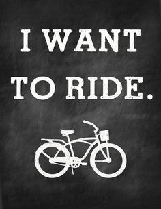 Entirely Eventful Day: Free Bike Printable