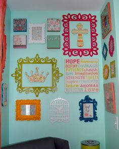 Project Nursery - Detail: Frames (2)