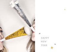 New Years Party Blowers #sparkles #silver #camillestyles