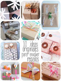 10 ideas originales para envolver regalos