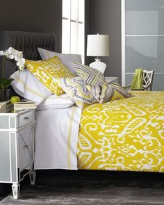Ikat is the new chevron.  See easy ways to incorporate it into your home decor at www.getyourprettyon.com