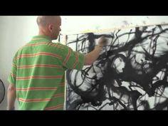 Martin Wohlwend -- Artist, Painter -- Sennwald Studio, CH 2011.04.25