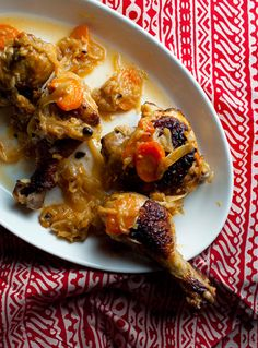 Senegalese Yassa Poulet (marinated grilled chicken in a caramelized onion sauce) Recipe - Saveur.com