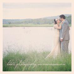 Lake samsonvale wedding