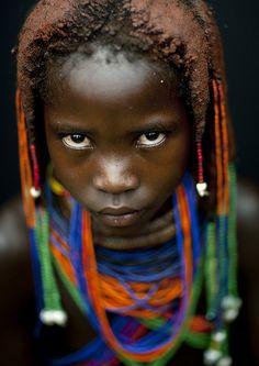 Mumuhuila girl - Angola by Eric Lafforgue, via Flickr