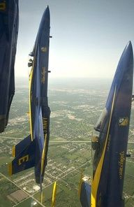 Navy Blue Angels Straight Up!
