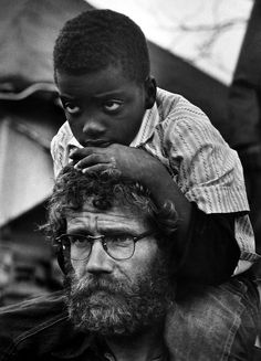 The Selma to Montgomery Civil Rights March, 1965.  By James Karales