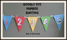 Back to School - Googly Eyed Bunting