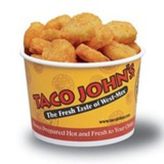 TACO JOHN'S POTATO OLE' SEASONING.  4 tsp Lawrys seasoning salt   2 tsp paprika  1 tsp ground cumin  1 tsp cayenne pepper