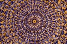 Mosaic from Samarkand, Uzbekistan
