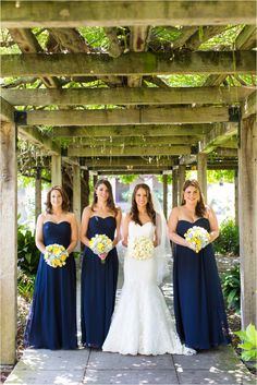 navy and yellow wedding colors...in love, but with sun flowers!