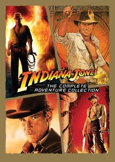 Indiana Jones: The Complete Adventure Collection (Raiders of the Lost Ark / Temple of Doom / Last Crusade / Kingdom of the Crystal Skull) ~ added January 20, 2011