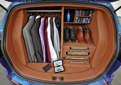 Gentlemen's car trunk