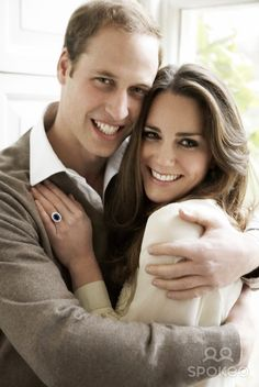 The infamous engagement photo.  The neutrals keep it simple and classic.