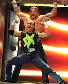 Triple H and Shawn Michaels (Degeneration X)