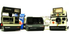 1970s/1980s Polaroid Family - The magic of having a photograph develop in minutes!