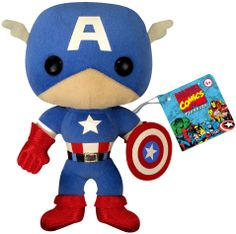 Captain America fans, take home this adorable 7-inch tall plush! (700 points)
