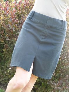 A Pantsformation - or... How I Made a Skirt from a Pair of Pants