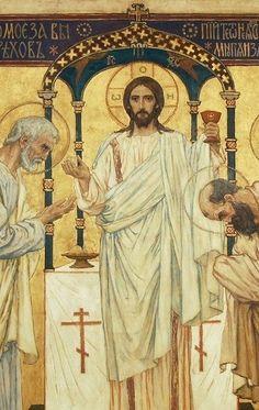 Viktor Vasnetsov: La Eucaristía.