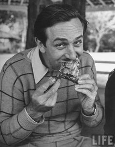 Enjoying your lunch?  Walt is, too.